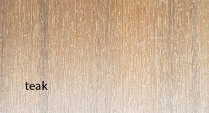 composite decking - teak