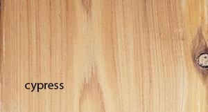 cypress decking