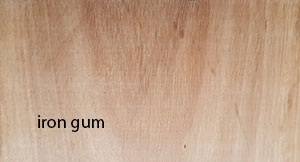 iron gum decking