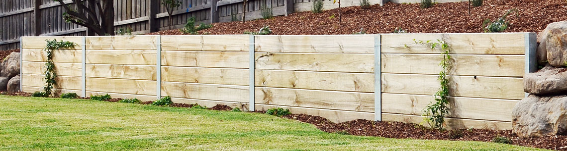 Retaining Wall Banner