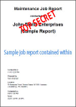 TOP SECRET Sample Job Report